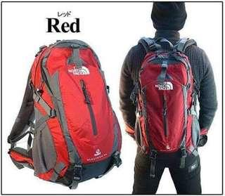 Red The North Face Electron Terra 50 Climbing Hiking Backpacking