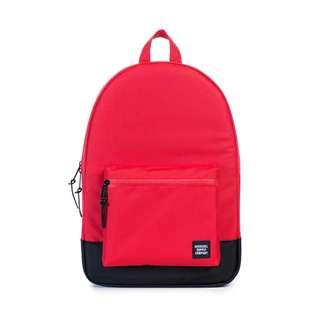 (reduced price) AUTHENTIC Herschel Settlement Backpack Black/Ballistic Red 🎒