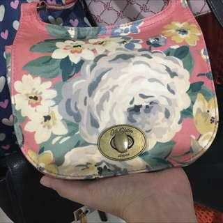 REPOSTED! Authentic Cath Kidston sling bag turn lock