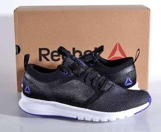 Reebok 女裝 全新半價 跑鞋 運動鞋 Women's 9 Med Print Athlux Shatr Running Shoes Black Grey