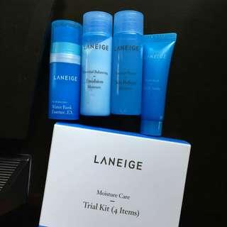 Laneige Moisture (trial kit)