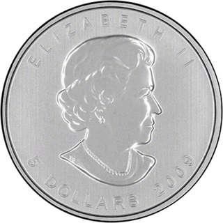 (多買有折) 激罕現貨 包速遞 2009 加拿大楓葉 .9999銀幣1盎司 Canadian Silver Maple Leaf Coins 收藏投資首選 全新密封包裝