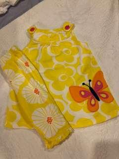 Baby Girl Top and Bottom Set