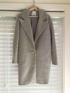 """Cameo """"About Time"""" Grey Marle Coat"""