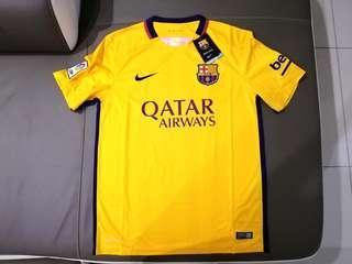 (New) Original Nike FC Barcelona Away Jersey 15/16