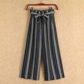 🚚 Striped Culottes