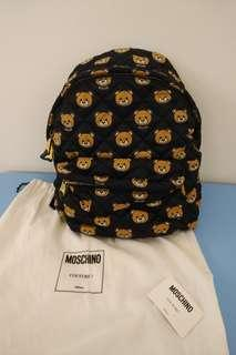 Moschino Couture Teddy Bear Printed Backpack