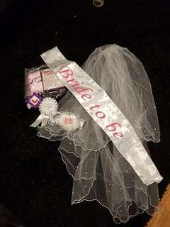 Bride To Be Hens Night Party Accessories