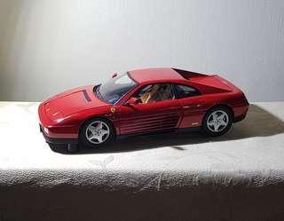 1 18 Hotwheels Elite HWE Ferrari 348 TB