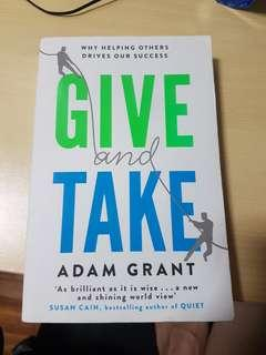 Give and take: why helping others drive our success