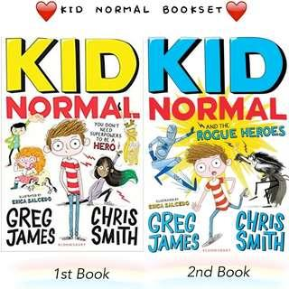 Kid Normal bookset with magnet and 2 bookmarks