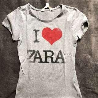 Zara basic tee