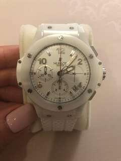 Hublot white rubber