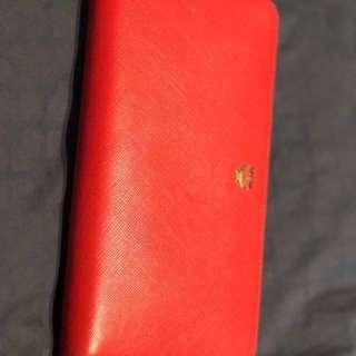 Flash sales (Price reduced) - MCM zip around Long purse red