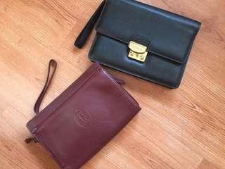 Auth cartier lancel clutches bundle sale x lv Louis Vuitton gucci prada