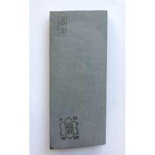 Japan Natural Whetstone Shoubudani for Razor / high end Cutlery