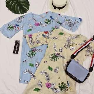 Floral Print Dresses Floral Print Dress Ruffled Dress Office Dress