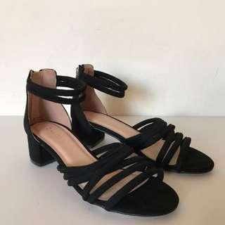 ZALORA Strappy Block Sandals
