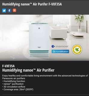 Panasonic Airpurifier