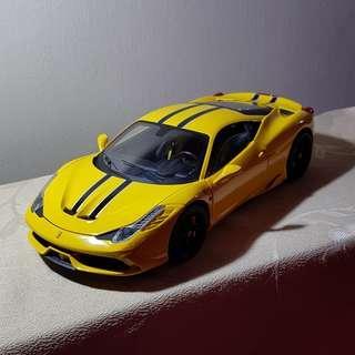 🚚 1 18 Hotwheels Elite HWE Ferrari 458 Speciale