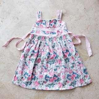 Dress anak bunga