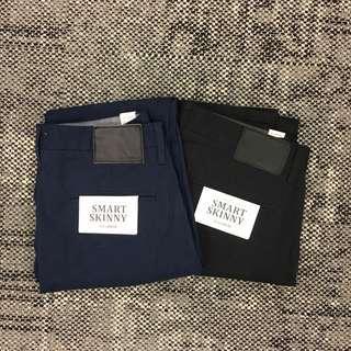 Pull & Bear khaki pants size 31 x2 navy, black