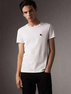 Burberry white tee