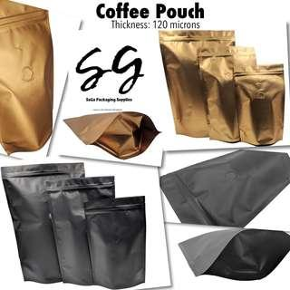 Coffee Pouch with valve (Aluminum Composite)
