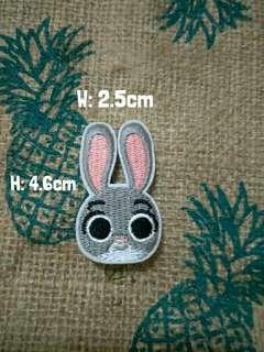 🚚 Zootopia Judy bunny rabbit badge pin