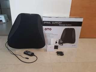 OTO Spinal Support Massage Cushion(Brand New)
