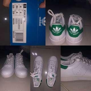 Adidas stand smith hijau