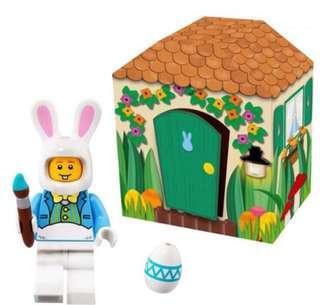 Lego Easter bunny minifig