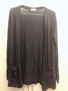 🚚 全新✨黑色罩衫