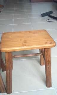 solid wood stool small stool chair low children adult