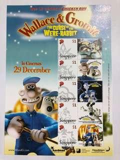 Singapore 2005 Wallace and Gromit My stamp sheetlet