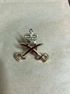 英軍體能教官(雙刀皇冠)襟章絕飯
