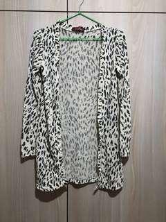 豹紋 長䄂外套
