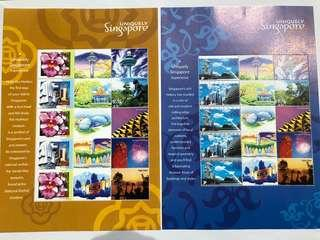 Singapore 2012 Uniquely Singapore My stamps with folder mnh