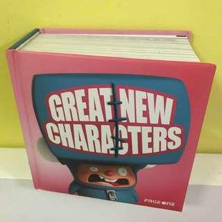 🚚 Great New Characters Design Animation Book Digital Media Arts Drawing