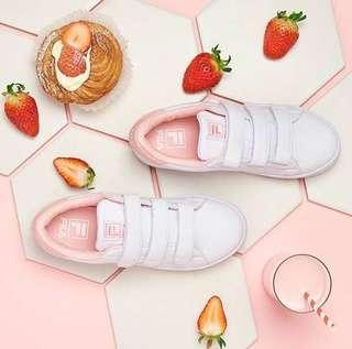 f6059485dddc Fila Court Deluxe in Baby Pink