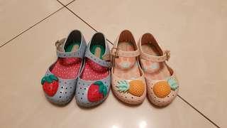 Mini Melissa Shoes (US7)