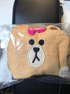 Line Choco毛巾頭箍
