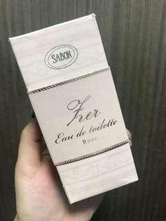 Sabon rose edt 80ml