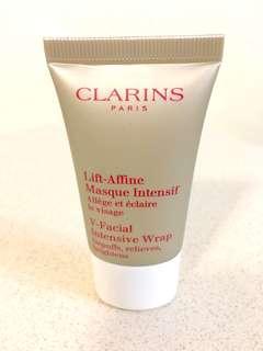 Clarins NEW Shaping Facial Lift V-Facial Intensive Wrap 15ml 全新升級纖顏緊緻 V 臉面膜