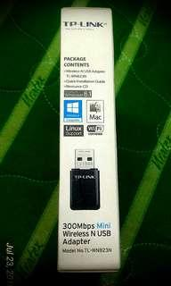 (WIFI USB RECEIVER)TP Link 300mbps Mini Wireless-N USB Adapter