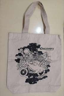 Discovery channel environmental shopping bag