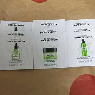 *包郵*The Body Shop sample 9pcs