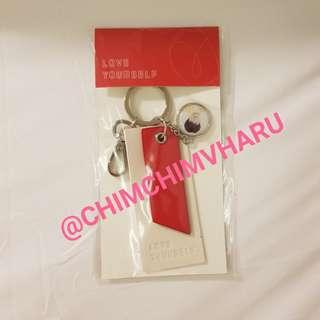 BTS Love Yourself Official Keyring - SUGA (Ready stock - Limited 1 pc only)