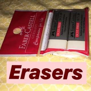 Faber Castell Eraser (Pack of 2)