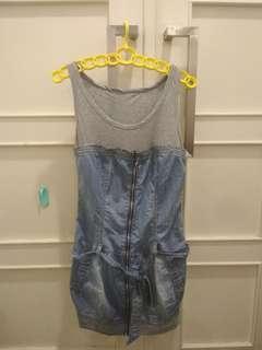 Dress semi jeans #1010